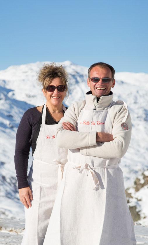 Carole et Pierre Bosseboeuf de la La Belle en Cuisse