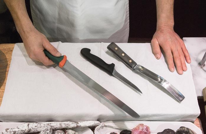 Couteaux pour désossage