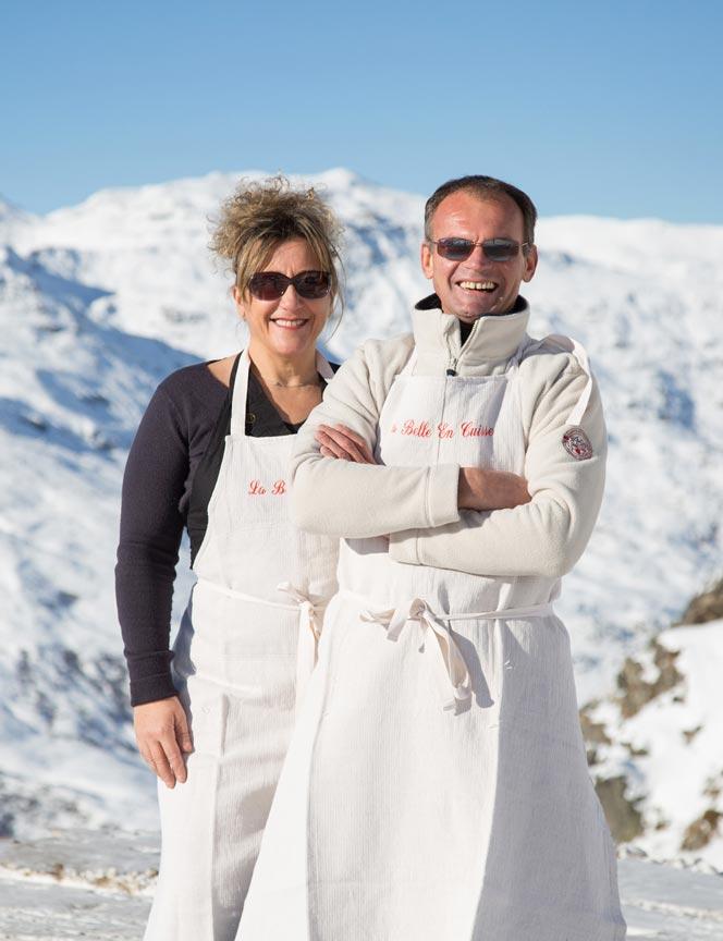 Pierre et Carole Bosseboeuf La Belle en Cuisse